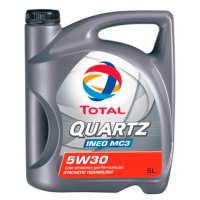 Масло моторное TOTAL QUARTZ INEO MC3 5W30 5л